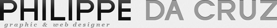 Philippe da Cruz : graphique and web designer