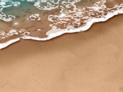 Image 16 de la partie eau du tutoriel sur la plage