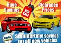 Bannière publicitaire pour le concessionnaire de véhicule Automotive Compan