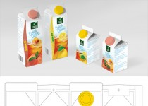 Packaging Campa ice tea