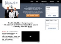web page E-interview preparation
