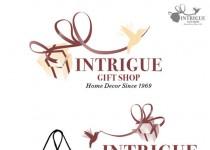Logo Intrigue gift shop