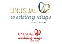 Logo Unusual wedding ring