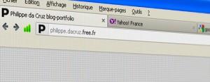 Favicons Philippe da Cruz, Yahoo et Google