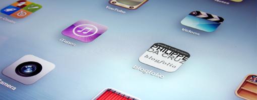 Icônes sur un écran