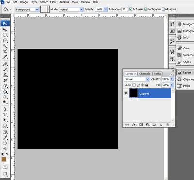 Image 1 du tutoriel sur la texture de l'écorce d'arbre.