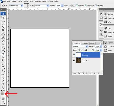 Image 3 du tutoriel sur la texture de l'écorce d'arbre.