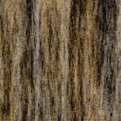 Image finale du tutoriel sur la texture de l'écorce.