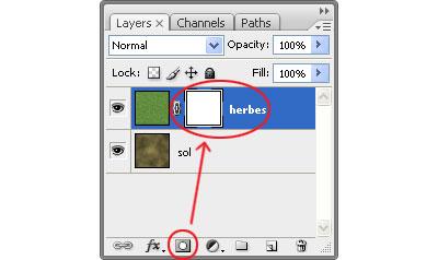 Image 11 du tutoriel sur la texture de l'herbe.