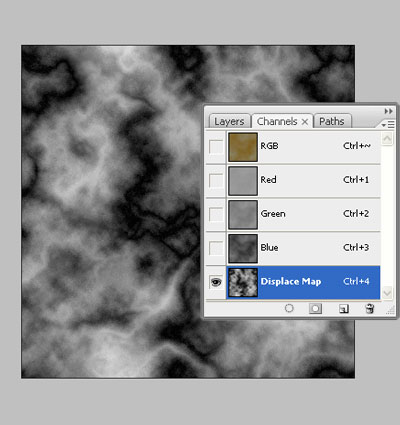 Image 3 du tutoriel sur la texture de la roche.