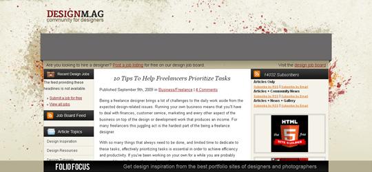Capture écran du site designm.ag.com