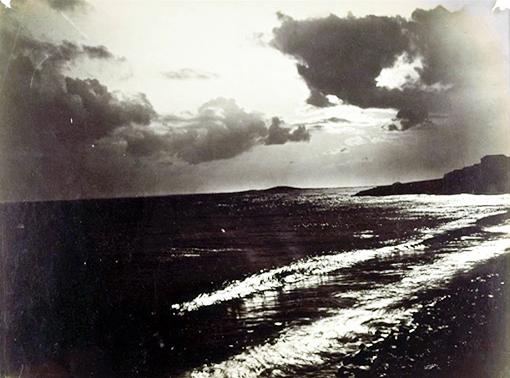 Bord de mer, photo de Gustave Le Gray